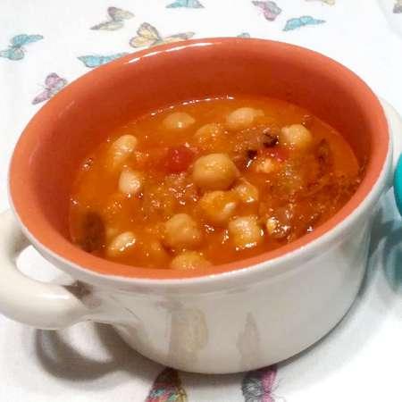 Zuppa di fagioli e ceci
