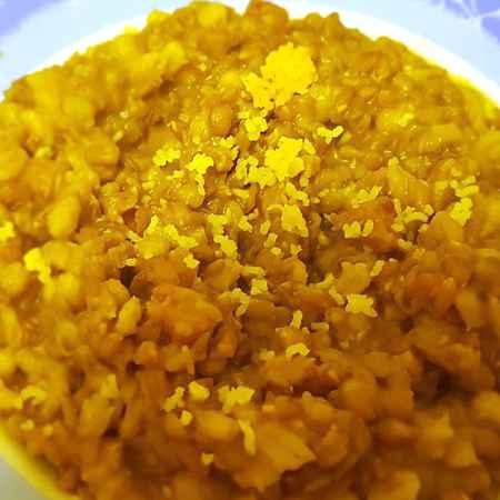 Zuppa di orzo farro e lenticchie