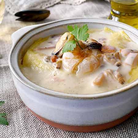 Zuppa di pesce norvegese (fiskesuppe)