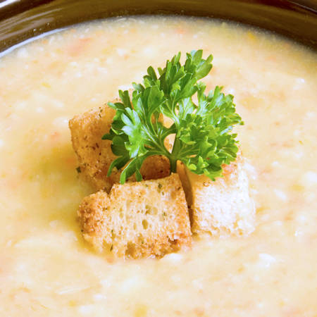 Zuppa di tonno e patate